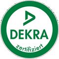 dekra siegel zertifiziert